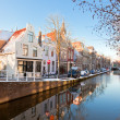 Stock Photo: Delft residential district