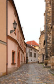 Old street Brno — Stock Photo