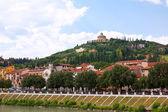 Verona historic center cityscape — Stock Photo