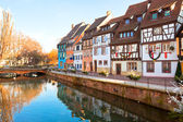 Medieval houses in Colmar, France — Stock Photo