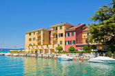 Hotel in Sirmione, Italy — Stock Photo