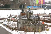 Madurodam, miniature city — Stock Photo