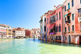 Palaces on Grand Canal Venice Italy — Foto Stock