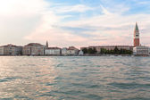 Seaview of Venice at sunset. — Stock Photo