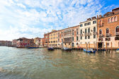 Palaces on Grand Canal Venice Italy — Stock Photo