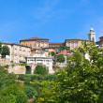 View of Bergamo Alta, Italy — Stock Photo #5219102