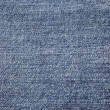 Blue denim background - Stock Photo