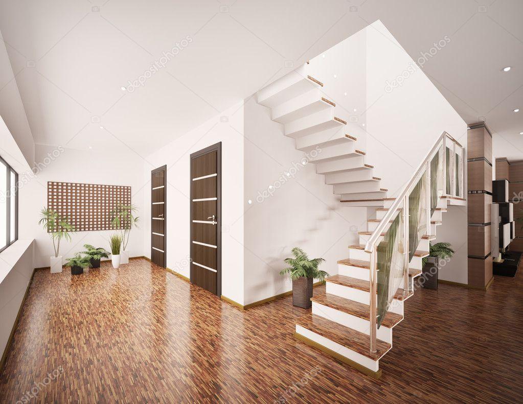 Interieur van moderne entree hal 3d render stockfoto scovad 4482723 - Moderne entreehal ...