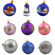 Royalty-Free Stock Photo: Set of christmas balls