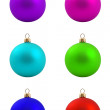 Set of christmas balls — Stock Photo #4525215