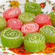 Stock Photo: Colorful fruit sugary candies