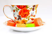 Classic tea cup — Stock Photo