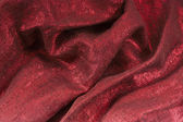 Golden-red textile — Stock Photo
