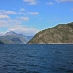 Scandinavian mountains, The North sea — Stock Photo #4988435