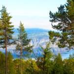 Scandinavian mountains, The North sea — Stock Photo #4988509