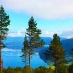 Scandinavian mountains, The North sea — Stock Photo #4988513