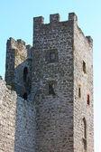 Genuese fortress in Sudak taken in Crimea — Stock Photo