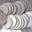 Old silver coins — Stock Photo #5289626