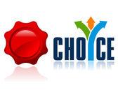 Best choice — Stock Vector