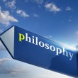 Philosophy — Stock Photo