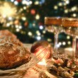 Stockfoto: Christmas place setting