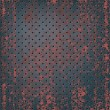 Texture of rusty metal mesh - Vektorgrafik
