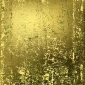 Abstract background texture of rusty golden metal — Stock Vector
