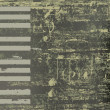 Abstract jazz background grunge piano keys - Stock vektor