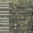 Abstract jazz background grunge piano keys - Векторная иллюстрация