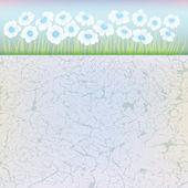 Abstrakt blommig illustration — Stockvektor