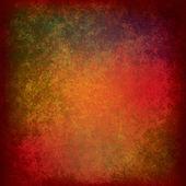 Textura rojo sucio abstracto — Vector de stock