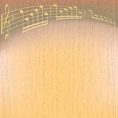 Abstrakt knäckt musik bakgrund — Stockvektor