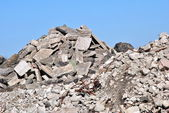 Demolition Debris — Stock Photo