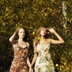 Two romantic girl — Stock Photo