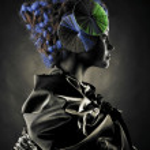 Beautiful alien lady — Stock Photo #4508881
