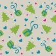 Royalty-Free Stock Photo: Lovely christmas background design in soft brown, pink and green