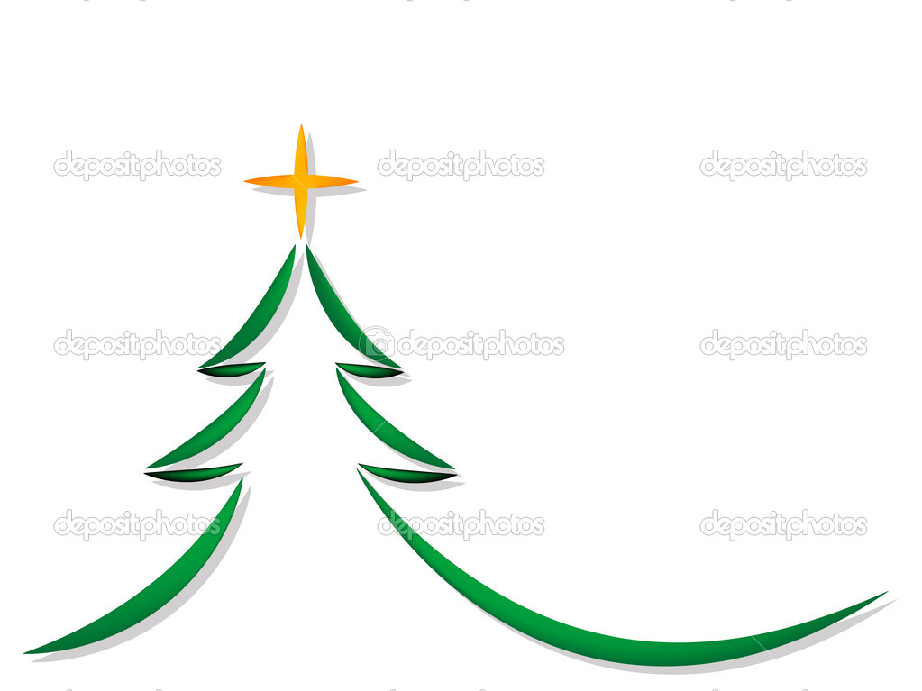 Simple Christmas Tree Stock Vector Sarininka 4314861