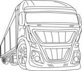 Araba - kamyon — Stok Vektör