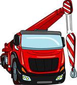 Crane truck — Stock Vector