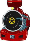 Locomotive — Stock vektor