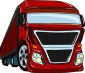 Car truck — Stock Vector
