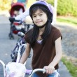 Stockfoto: Children on bike outing