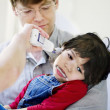 Stock Photo: Child in hospital
