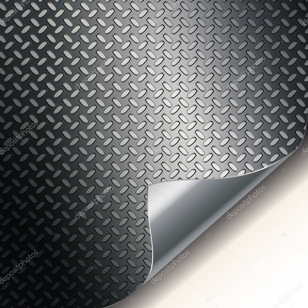 Fluted metal texture. Vector Illustration   Stock Vector #4020466