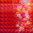Christmas abstract background — Stock Vector