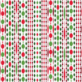 Garlands beautiful Christmas seamless vector pattern — Stock Vector