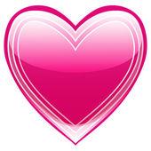 Vackra hjärta — Stockvektor