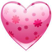 Krásné srdce — Stock vektor