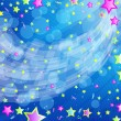 Eps10 vector beautiful funny party background. — ストックベクタ