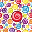 Vector Seamless Multicolor Wallpaper. — Vector de stock #4928591